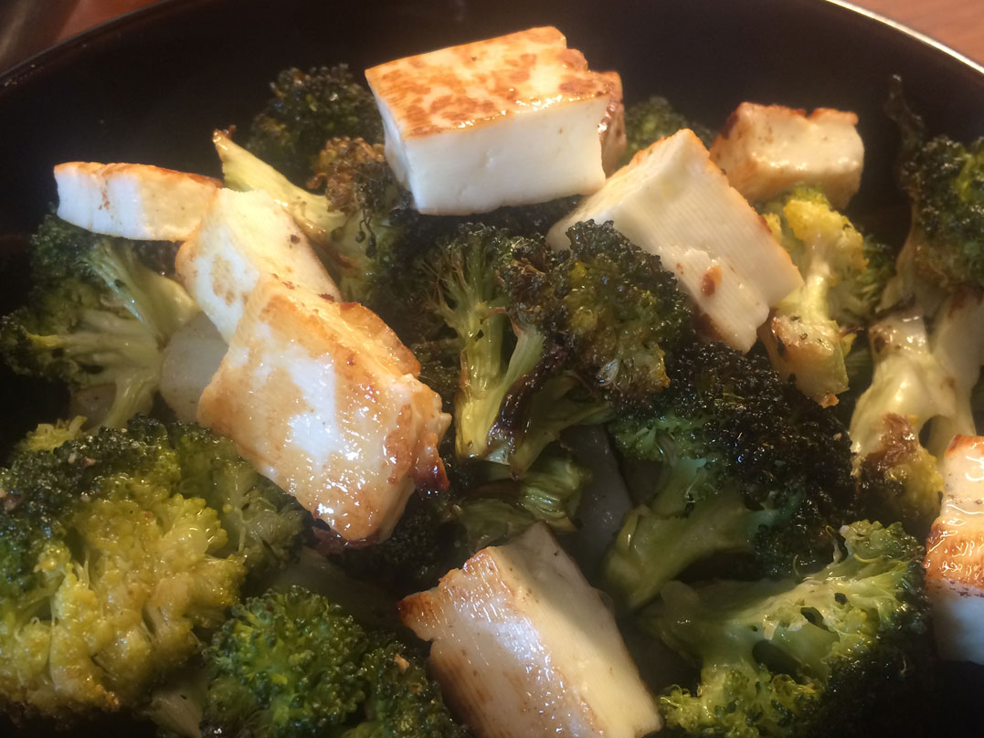 Roast Vegetables with Buffalo Haloumi Recipe